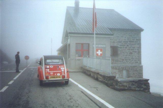 Grand St Bernard Pass